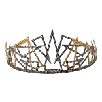 Certified Diamond Tiara 19 Ct Natural Certified Diamond 925 Sterling Silver Bridal Hair Accessories